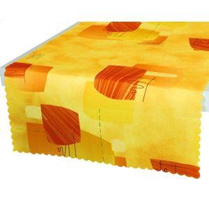Forbyt, Obrus s nešpinivou úpravou, Filipena oranžová 50 x 100 cm