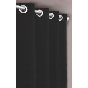 Forbyt, Dekoračná látka nebo záves, Blackout 150 cm, čierna