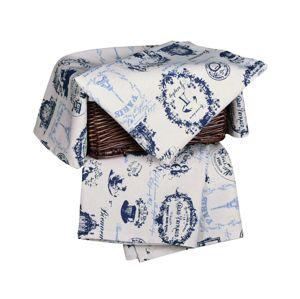 Forbyt, Utierka bavlnená, Provence komplet 3 ks, modrá