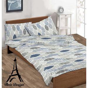 Obliečky bavlnené, Rennes modrá, bavlna exkluzív