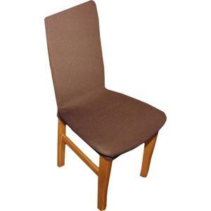 Forbyt Poťah multielastický na stoličky komplet , 2 ks, Nautic, hnedý